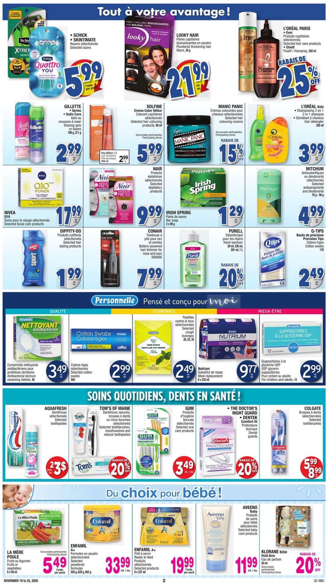 Jean Coutu Flyer - 11/19-11/25/2020 (Page 2)