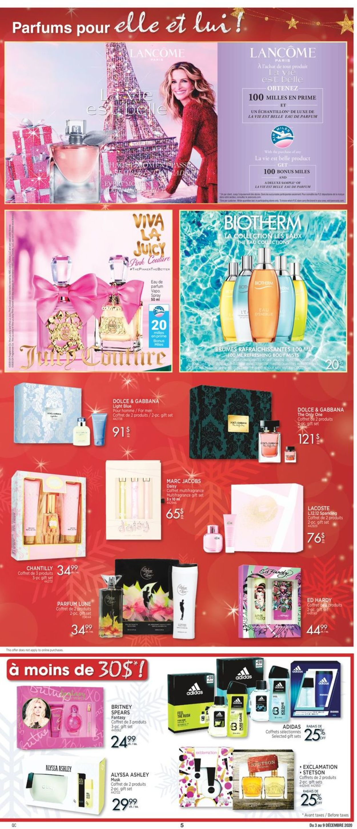 Jean Coutu - Holiday 2020 Flyer - 12/03-12/09/2020 (Page 4)