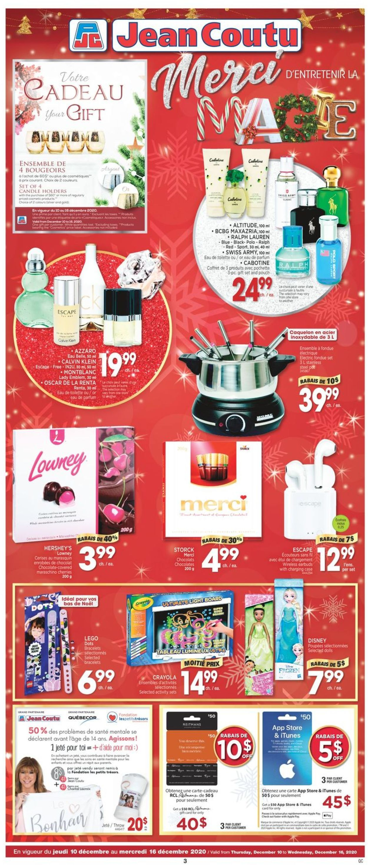 Jean Coutu - Holiday 2020 Flyer - 12/10-12/16/2020 (Page 2)