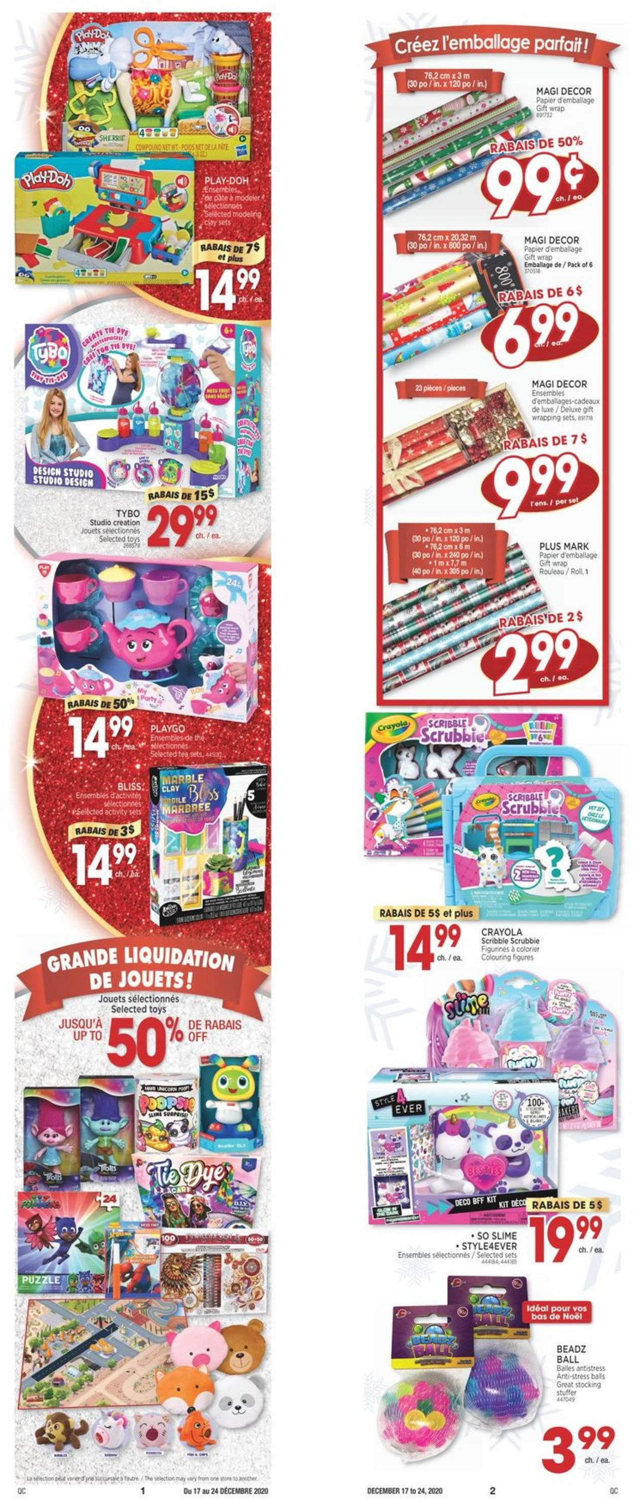 Jean Coutu - Christmas 2020 Flyer - 12/17-12/24/2020