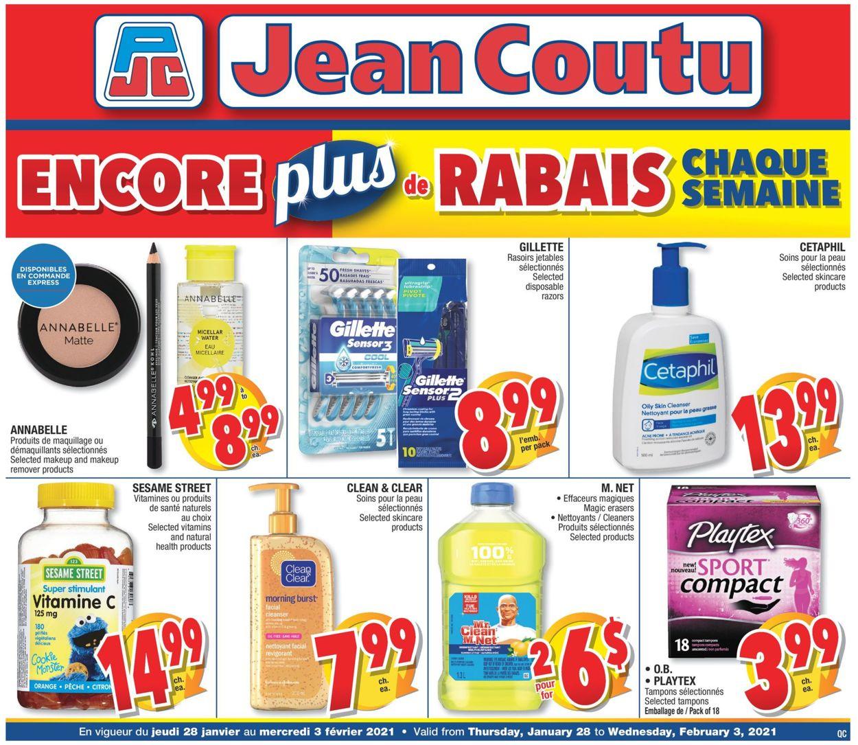 Jean Coutu Flyer - 01/28-02/03/2021