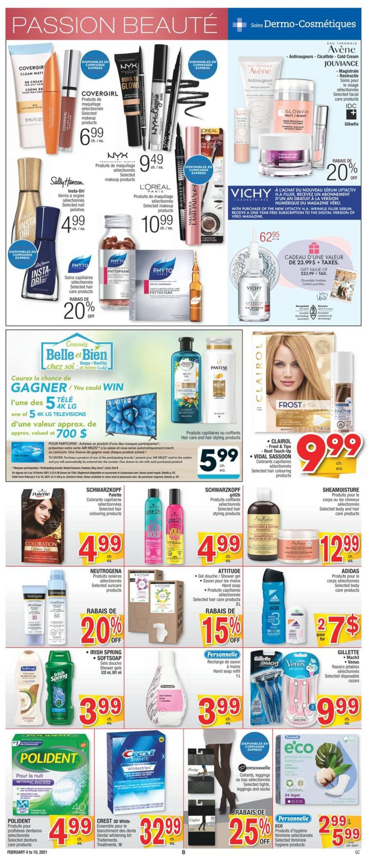 Jean Coutu Flyer - 02/04-02/10/2021 (Page 8)