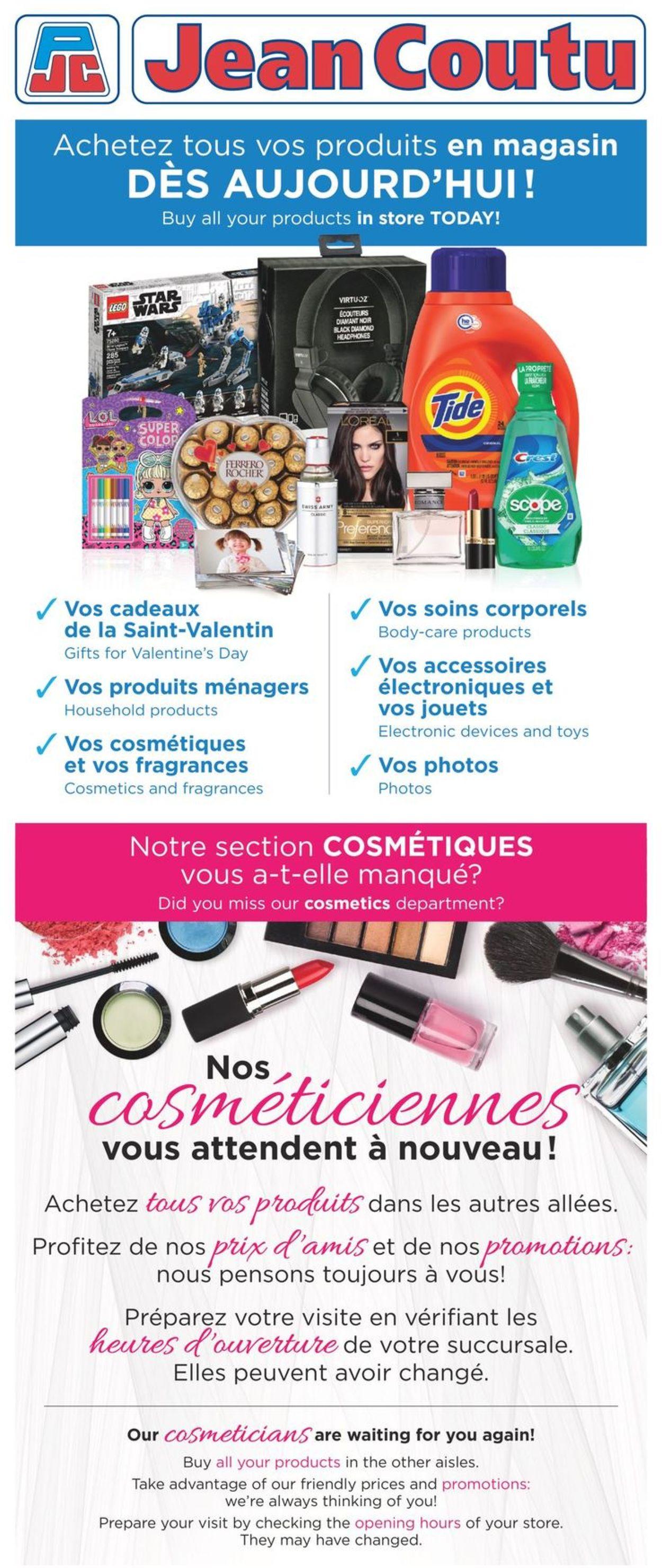 Jean Coutu Flyer - 02/11-02/17/2021