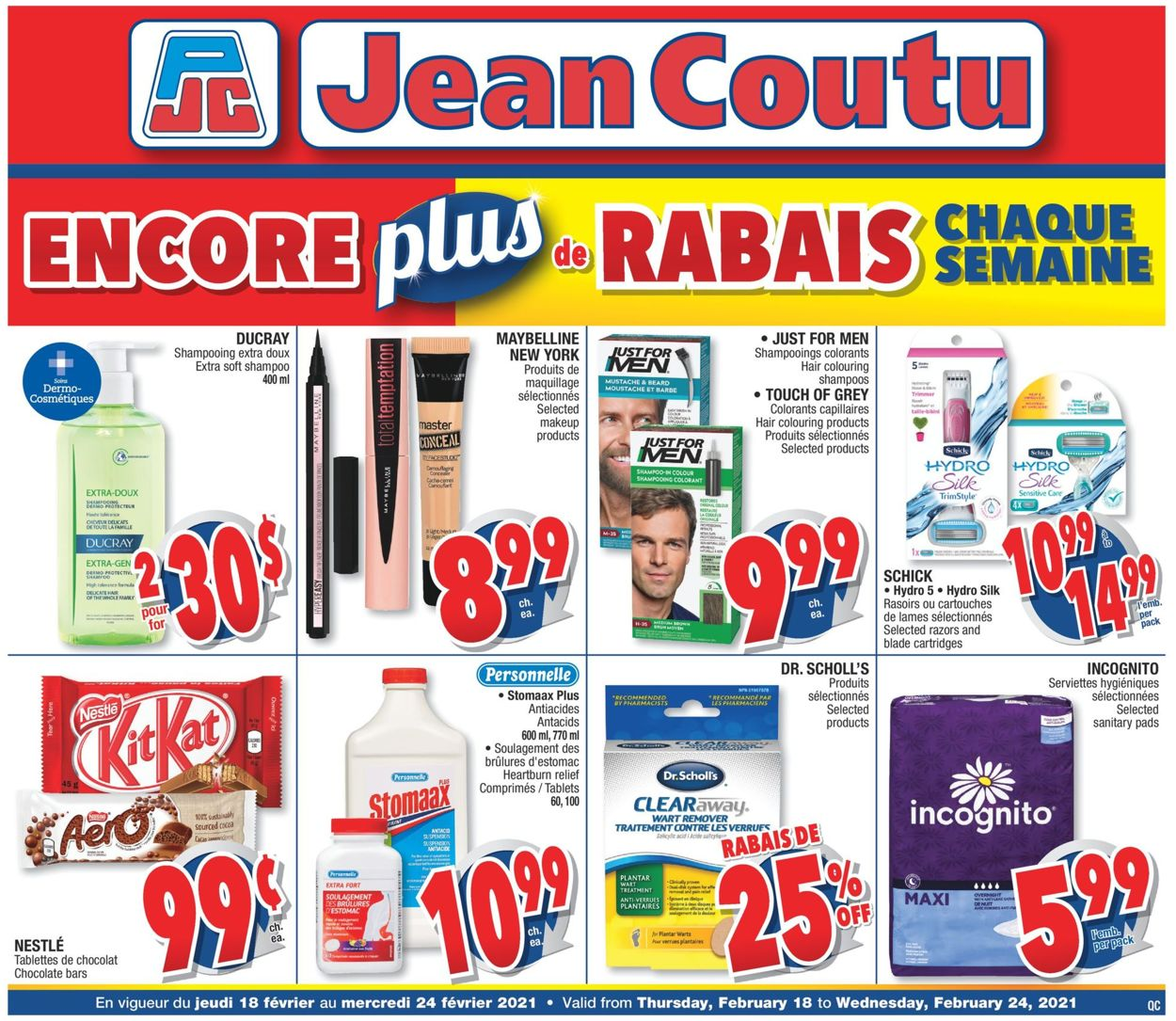 Jean Coutu Flyer - 02/18-02/24/2021