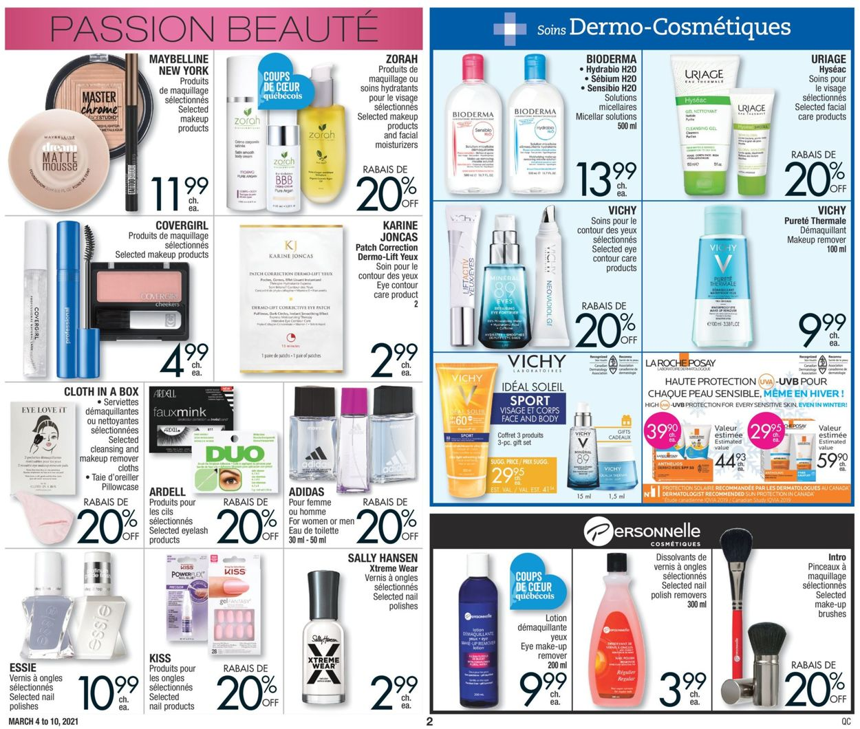 Jean Coutu Flyer - 03/04-03/10/2021 (Page 2)