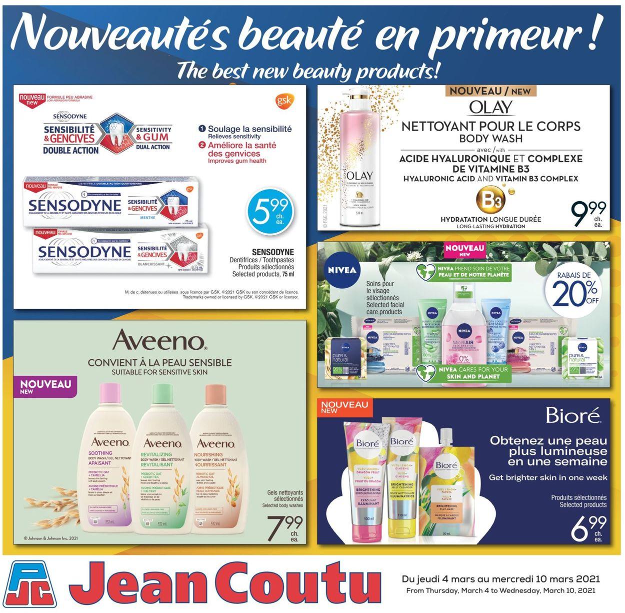 Jean Coutu Flyer - 03/04-03/10/2021