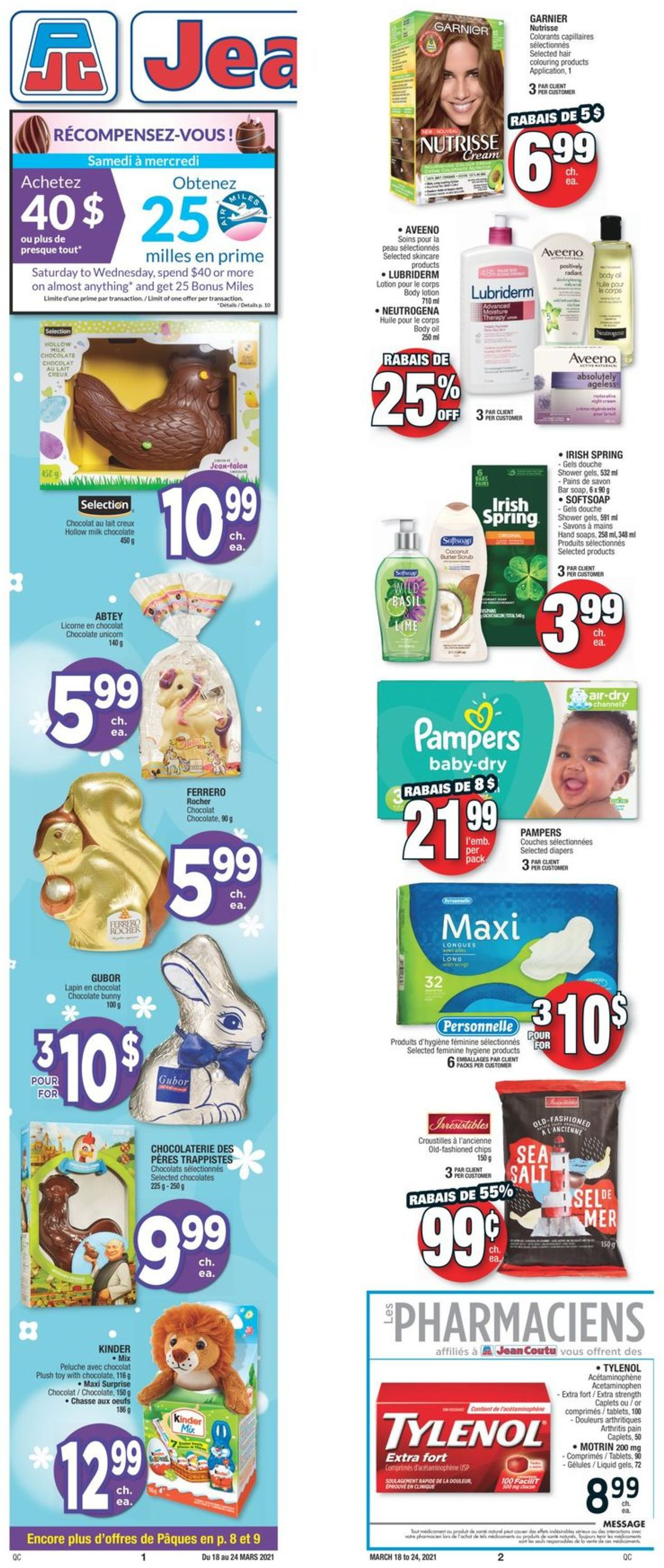 Jean Coutu Flyer - 03/18-03/24/2021