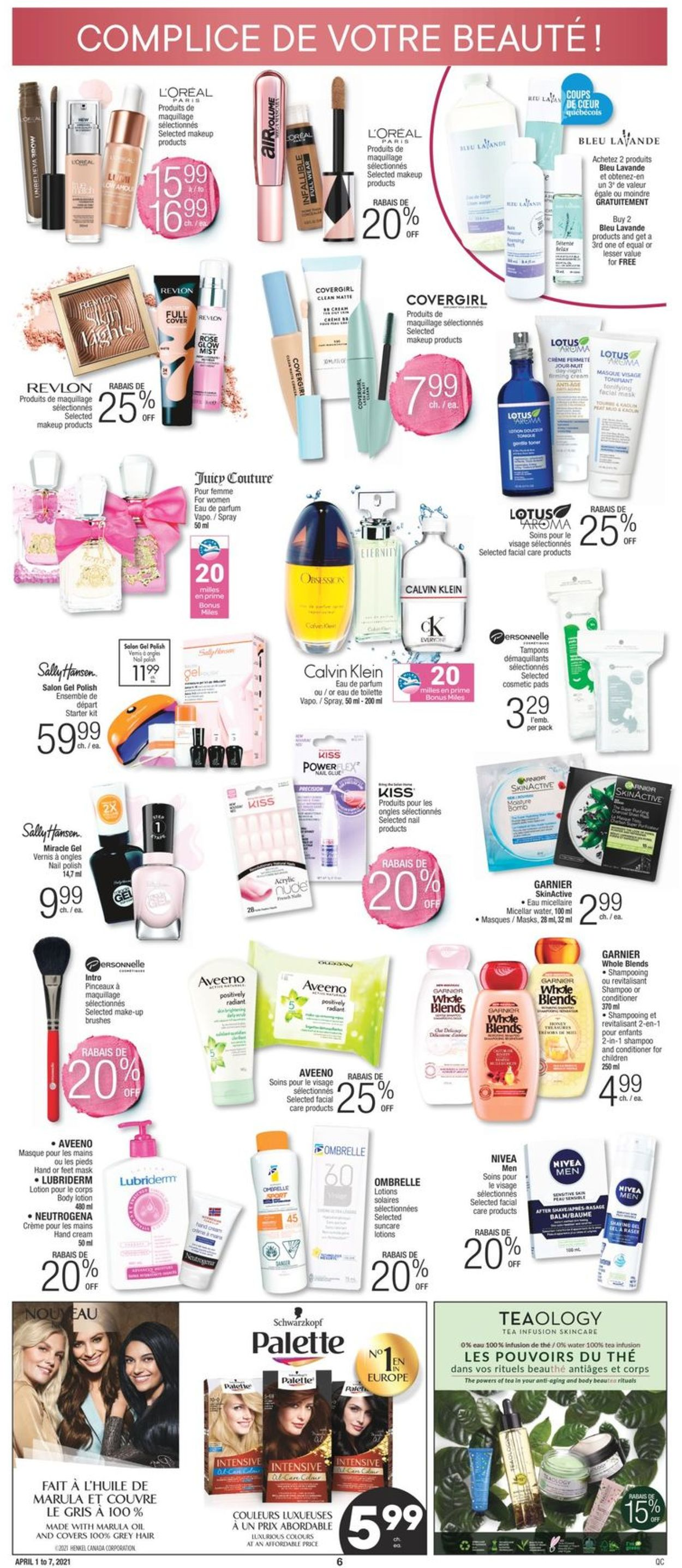 Jean Coutu Flyer - 04/01-04/07/2021 (Page 5)