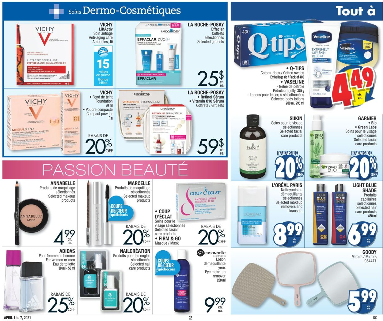 Jean Coutu Flyer - 04/01-04/07/2021 (Page 2)