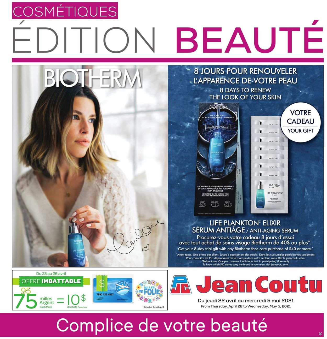 Jean Coutu Flyer - 04/22-05/05/2021