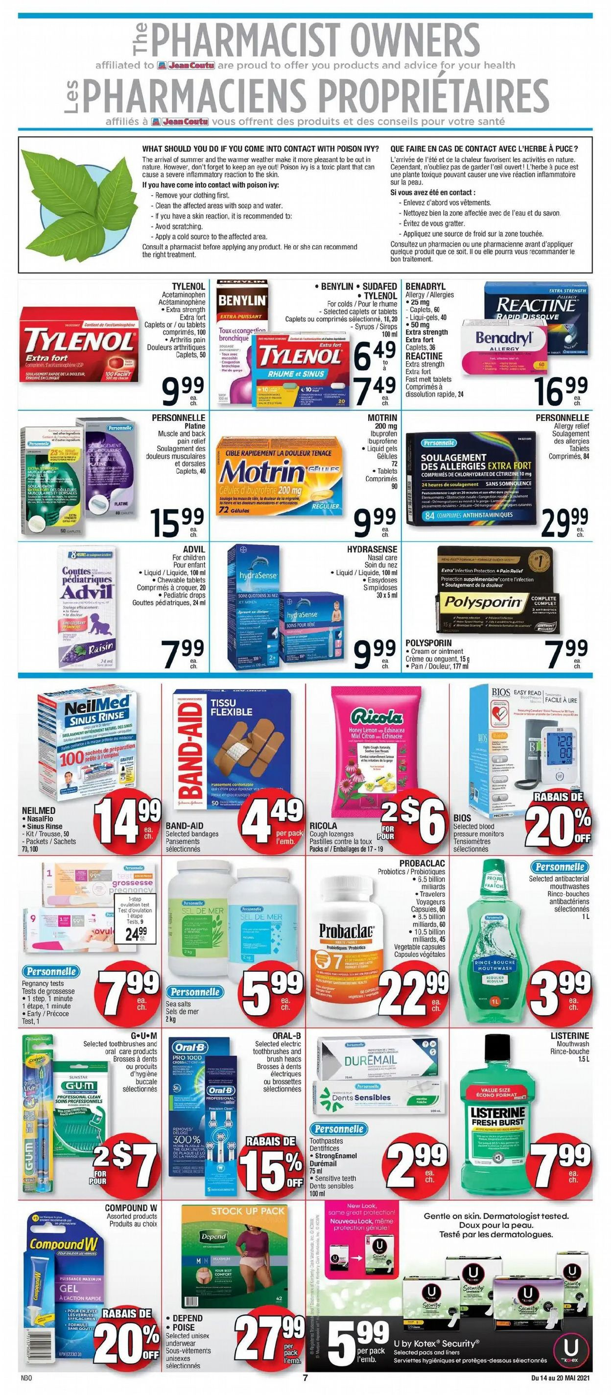 Jean Coutu Flyer - 05/14-05/20/2021 (Page 5)