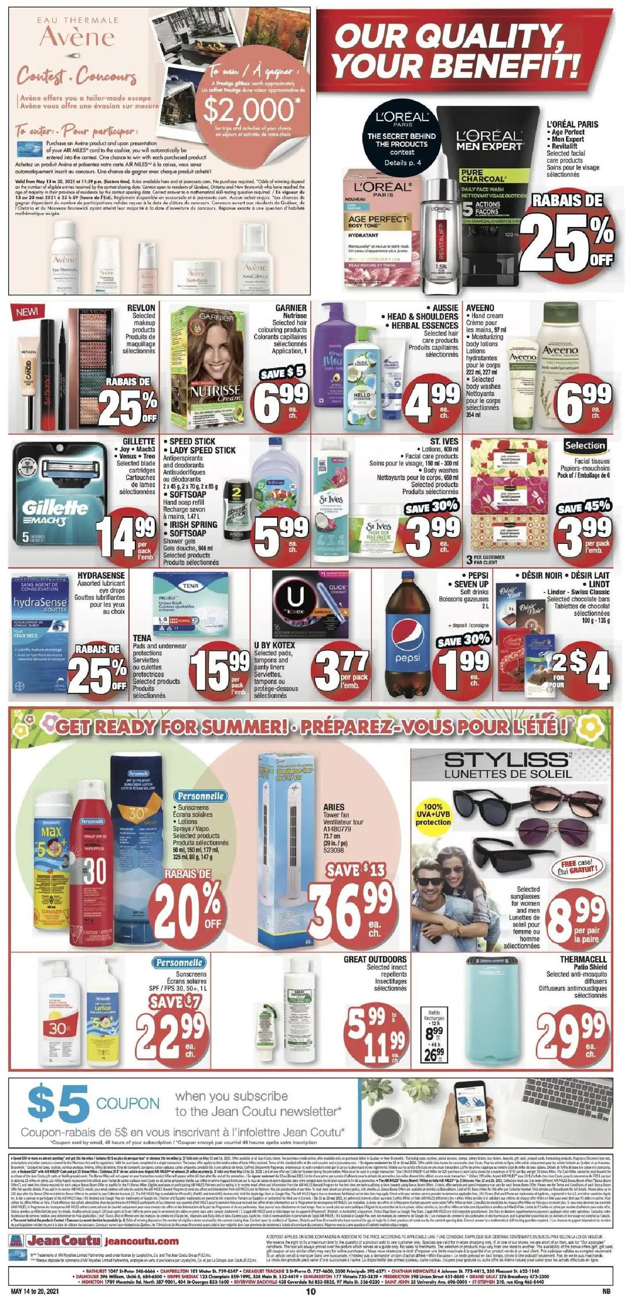 Jean Coutu Flyer - 05/14-05/20/2021 (Page 8)