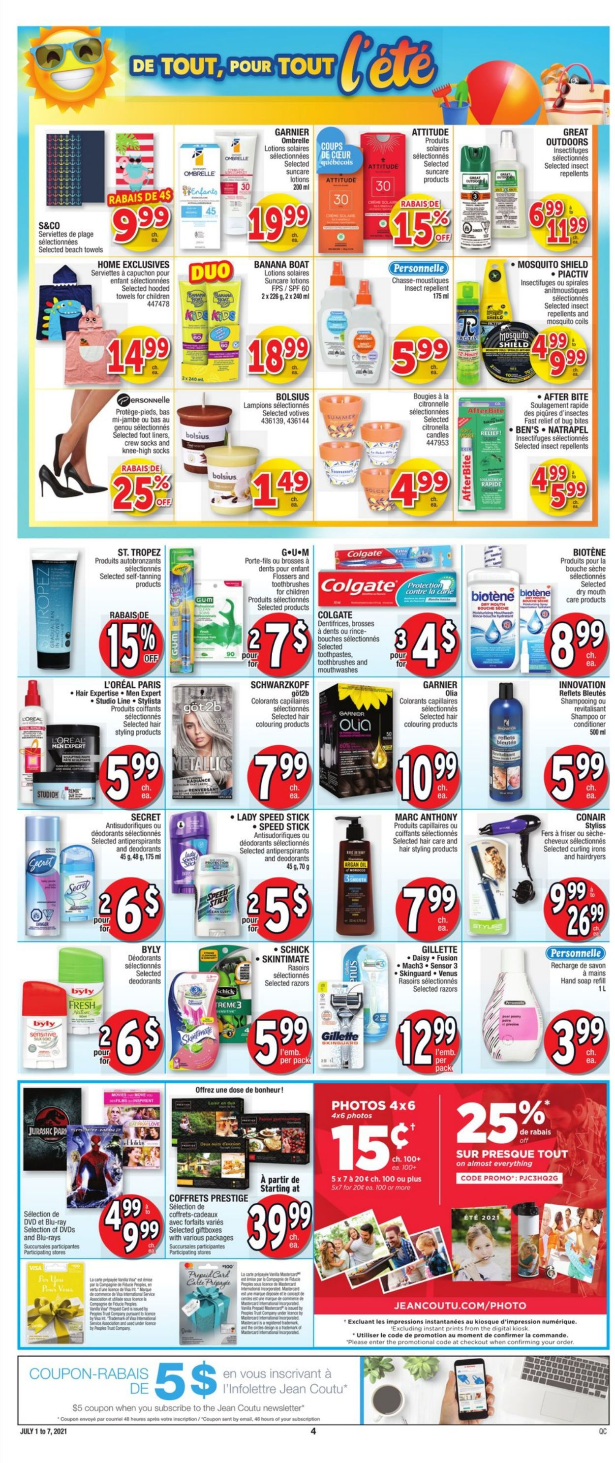 Jean Coutu Flyer - 07/01-07/07/2021 (Page 5)