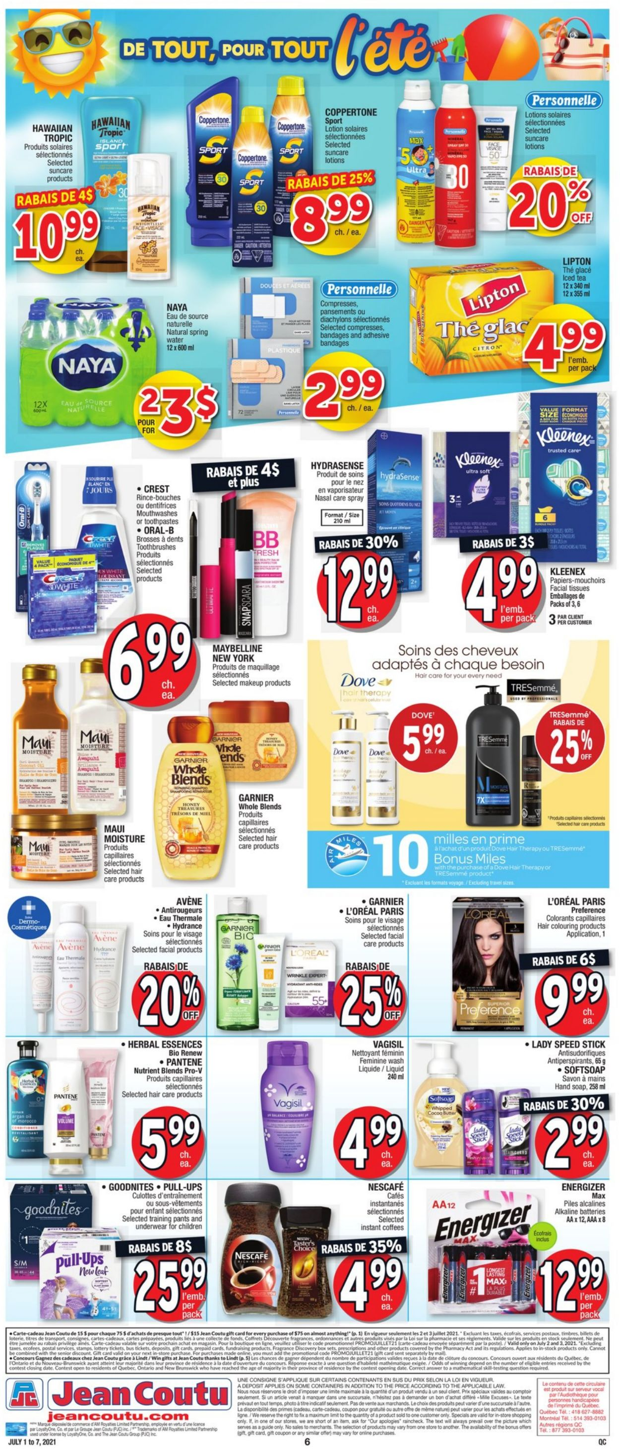 Jean Coutu Flyer - 07/01-07/07/2021 (Page 7)