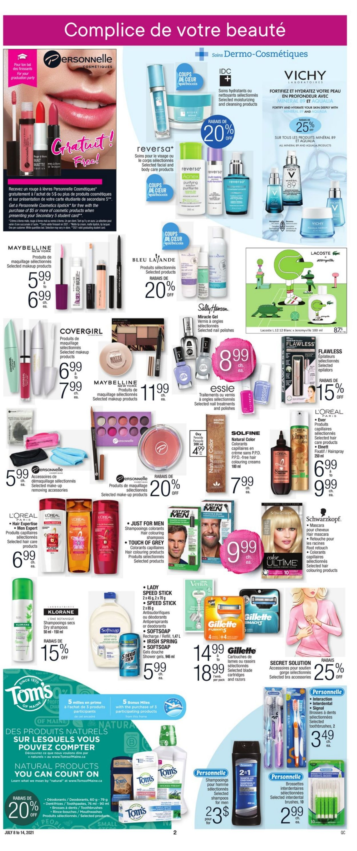 Jean Coutu Flyer - 07/08-07/14/2021 (Page 2)