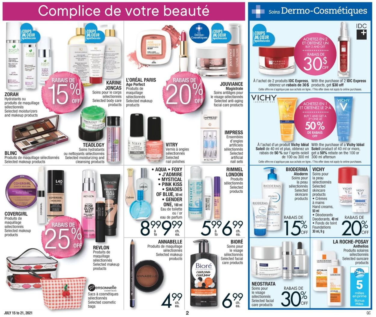 Jean Coutu Flyer - 07/15-07/21/2021 (Page 2)