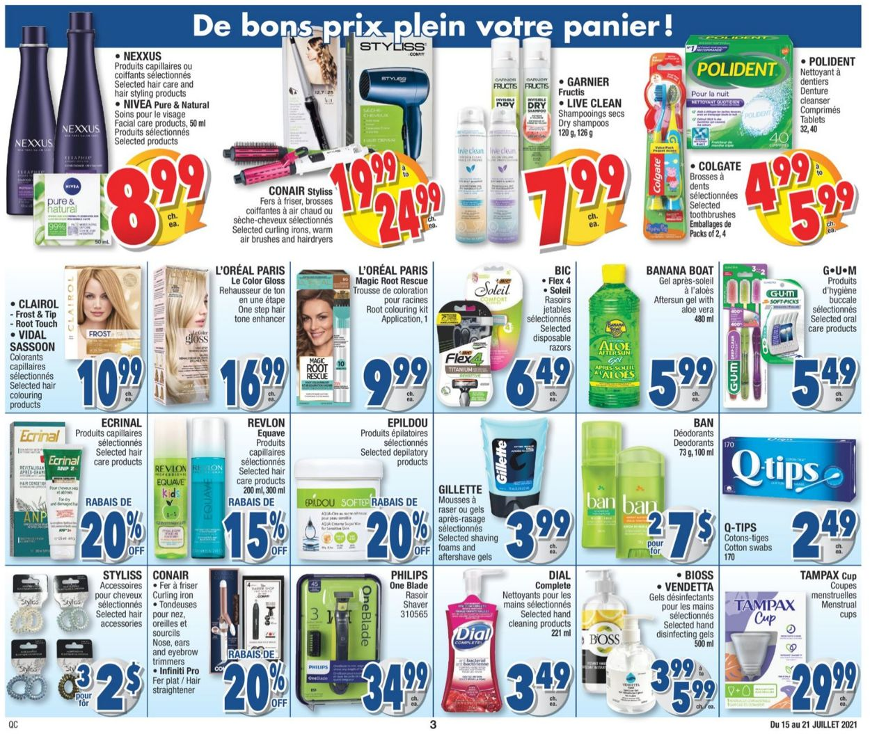 Jean Coutu Flyer - 07/15-07/21/2021 (Page 3)