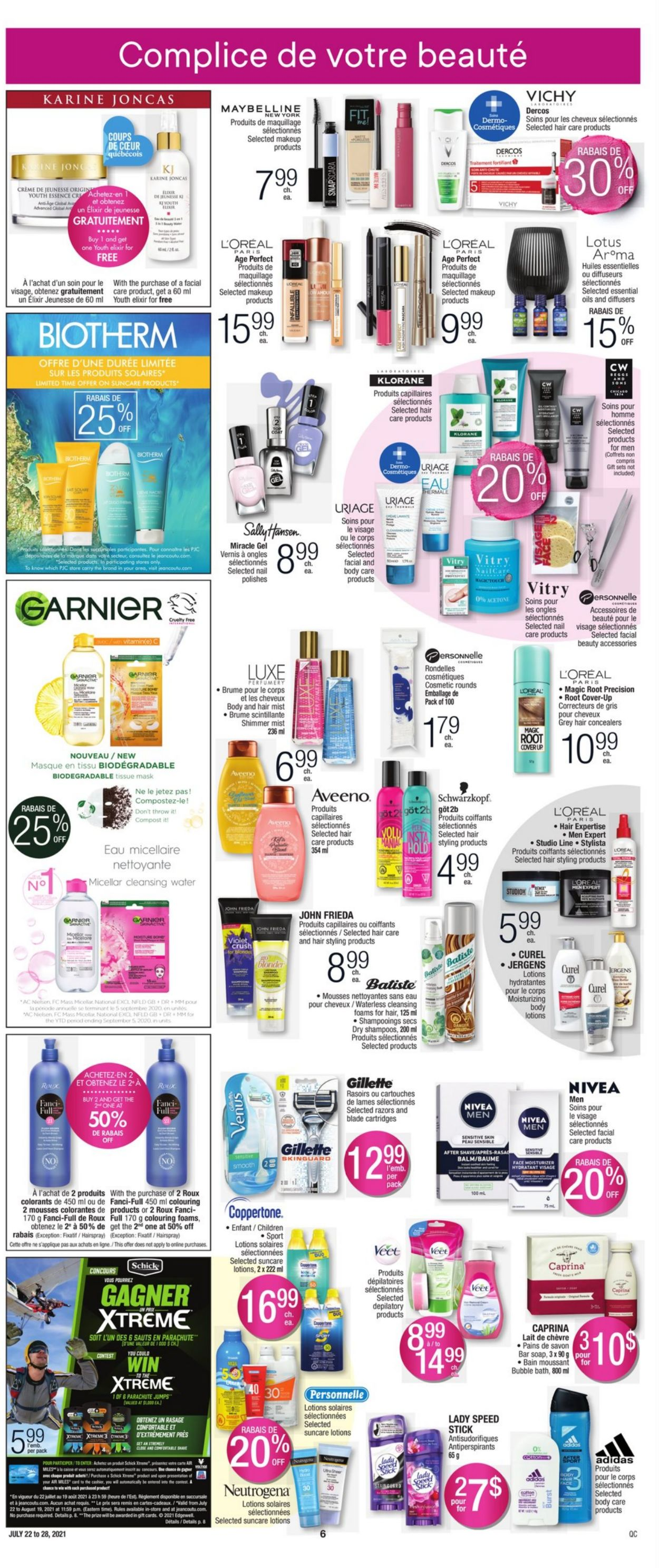 Jean Coutu Flyer - 07/22-07/28/2021 (Page 6)