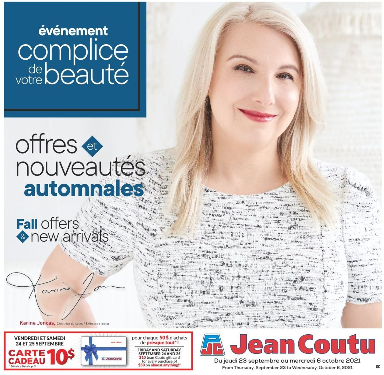 Jean Coutu Flyer - 09/23-10/06/2021