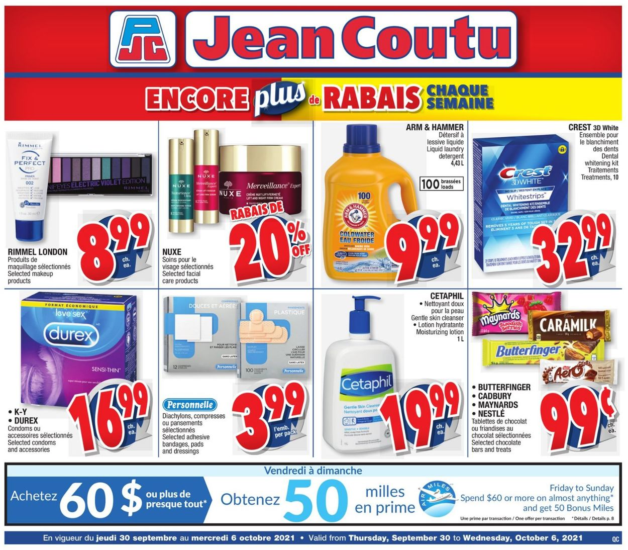 Jean Coutu Flyer - 09/30-10/06/2021