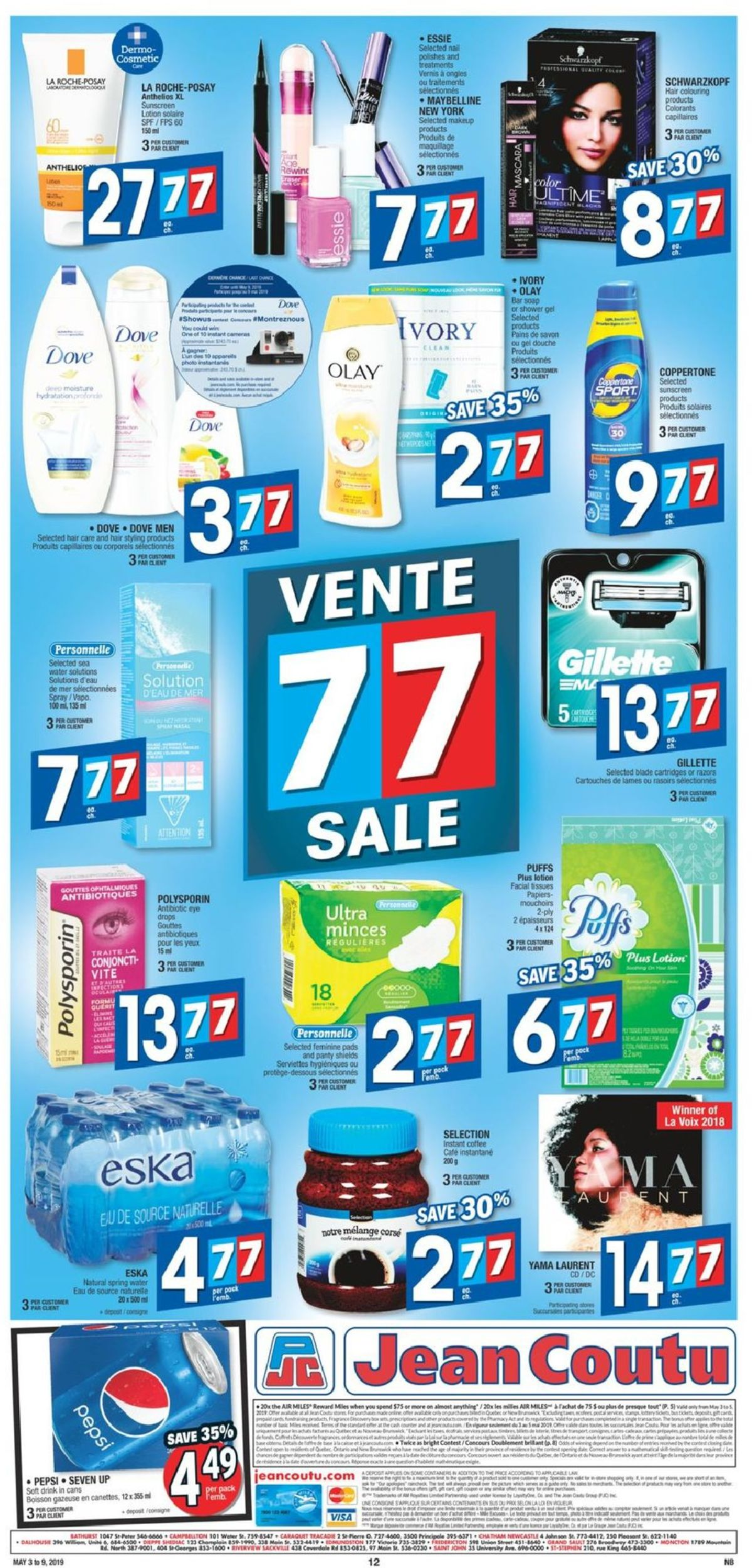 Jean Coutu Flyer - 05/03-05/09/2019 (Page 11)