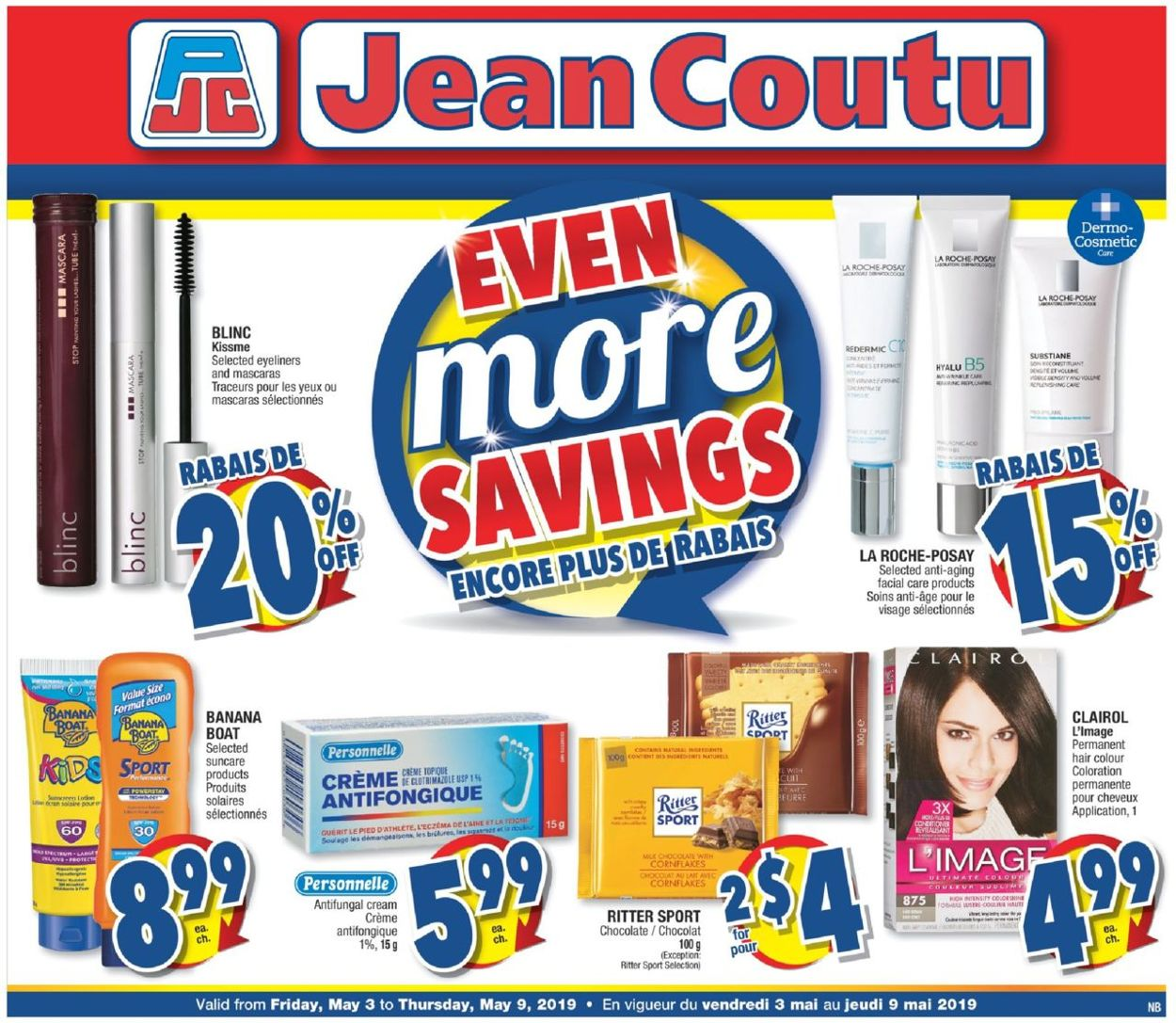 Jean Coutu Flyer - 05/03-05/09/2019