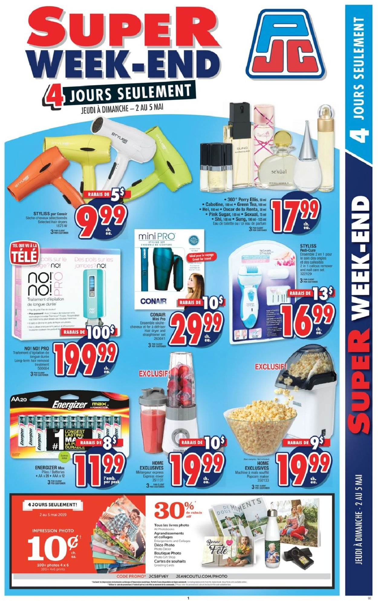 Jean Coutu Flyer - 05/02-05/05/2019