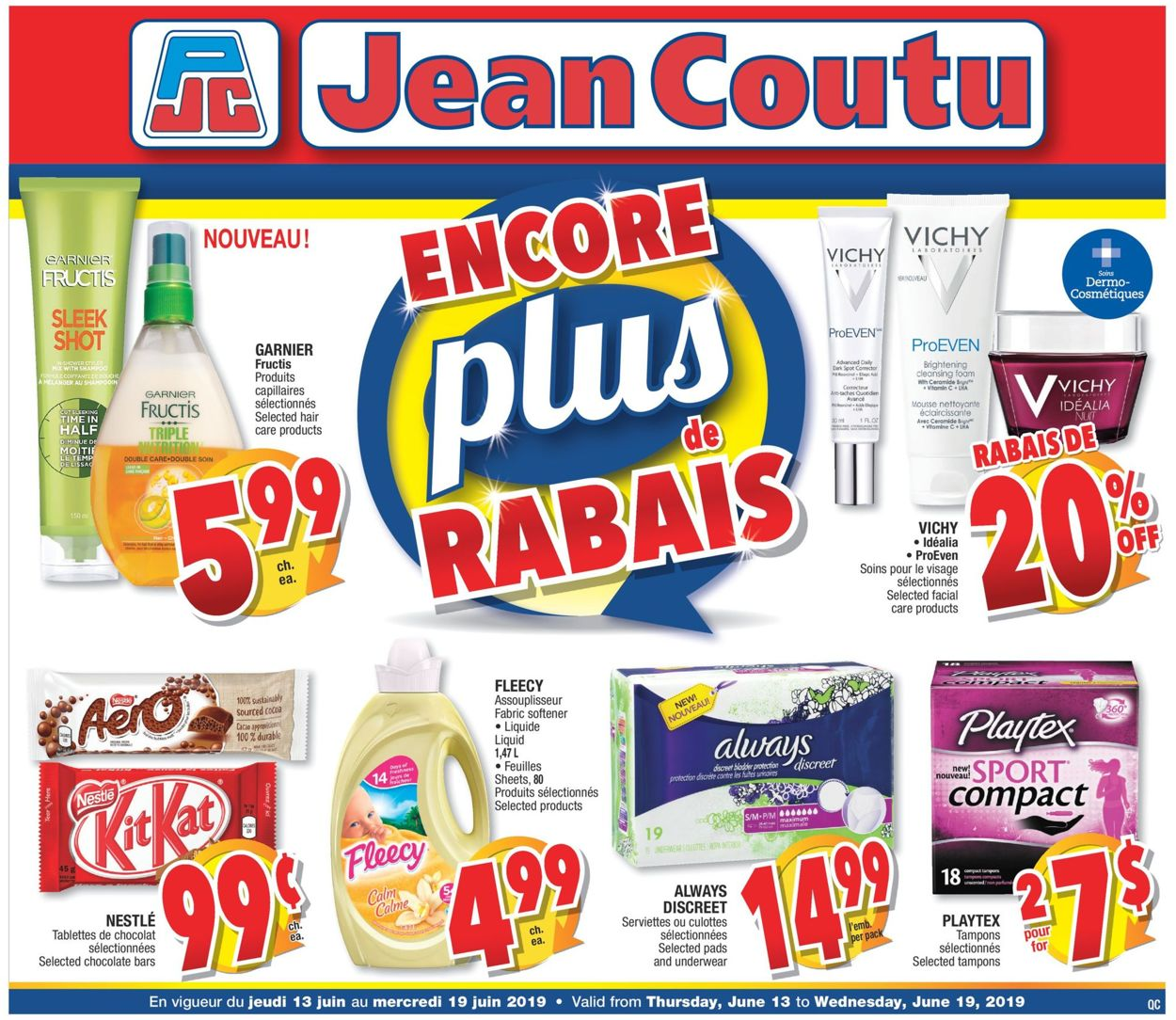 Jean Coutu Flyer - 06/13-06/19/2019