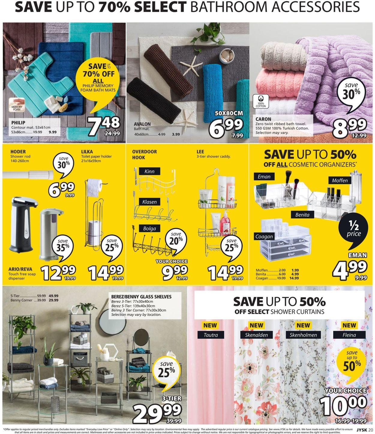 JYSK Flyer - 09/19-09/25/2019 (Page 21)
