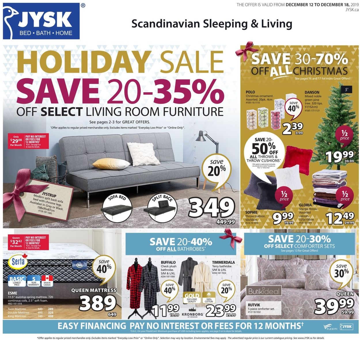 JYSK - HOLIDAY 2019 SALE