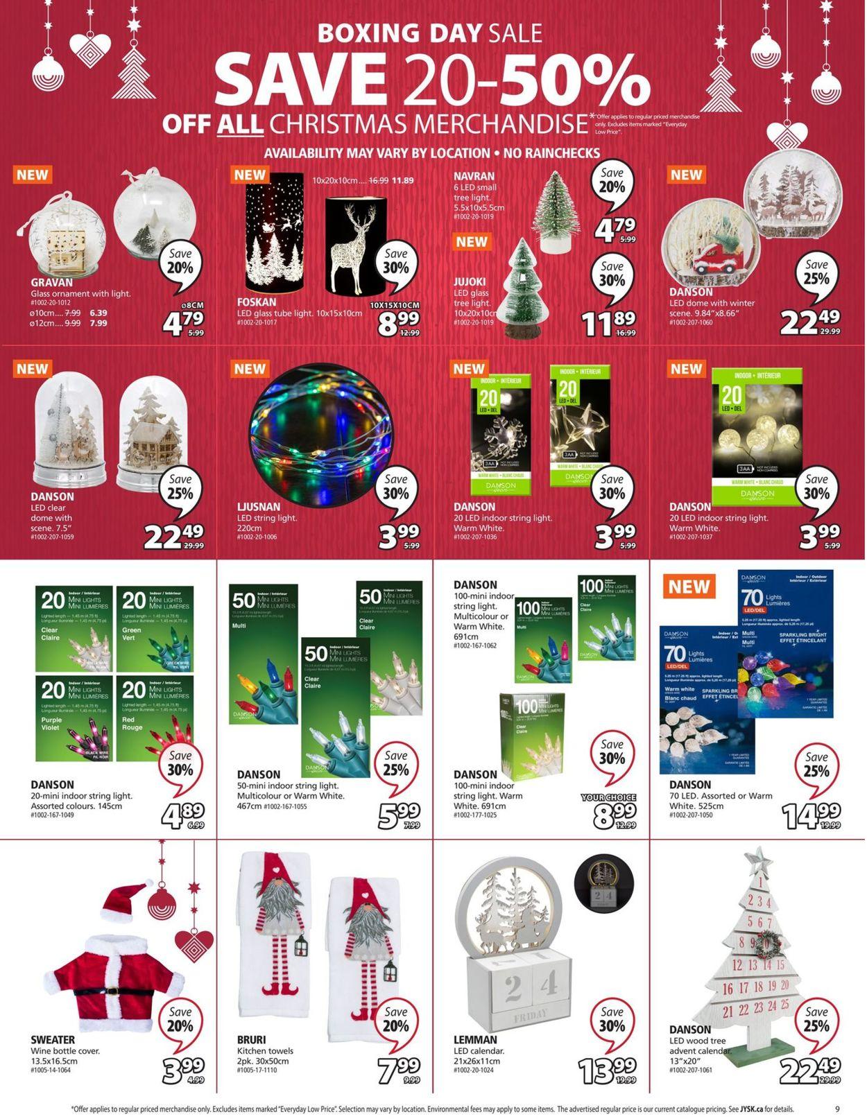 JYSK - Holiday 2020 Flyer - 12/10-12/16/2020 (Page 9)