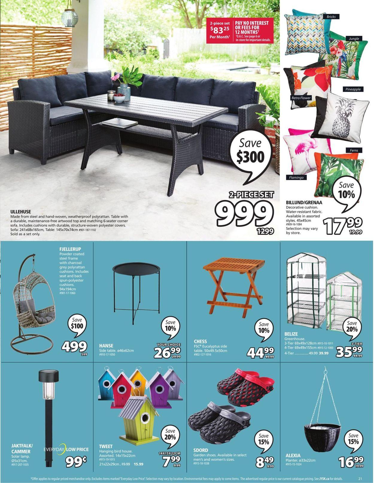 JYSK Flyer - 03/11-03/17/2021 (Page 21)