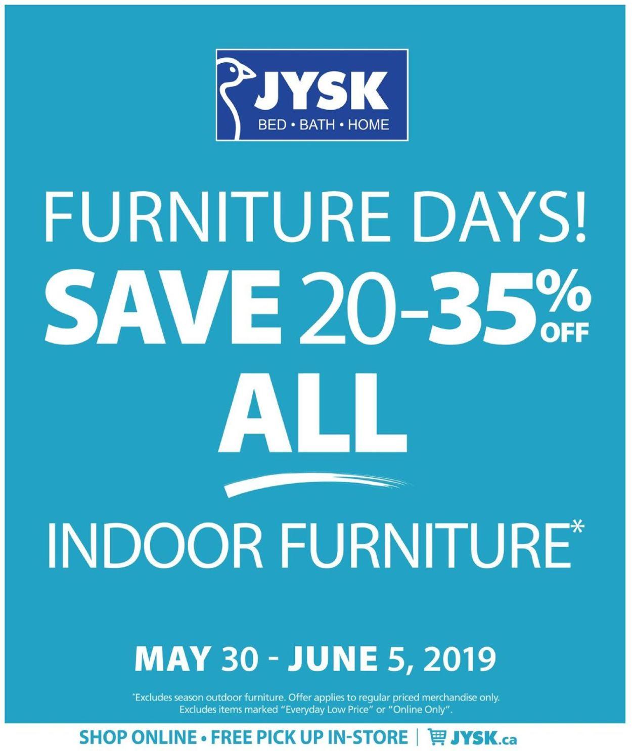 JYSK Flyer - 05/30-06/05/2019