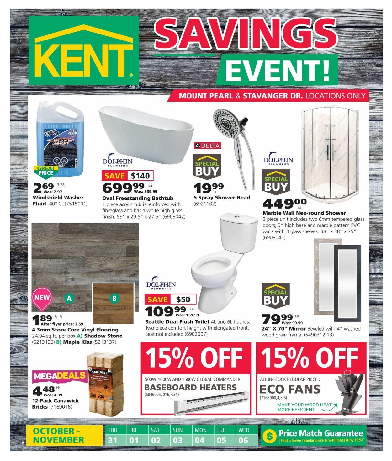 Kent Flyer - 10/31-11/06/2019