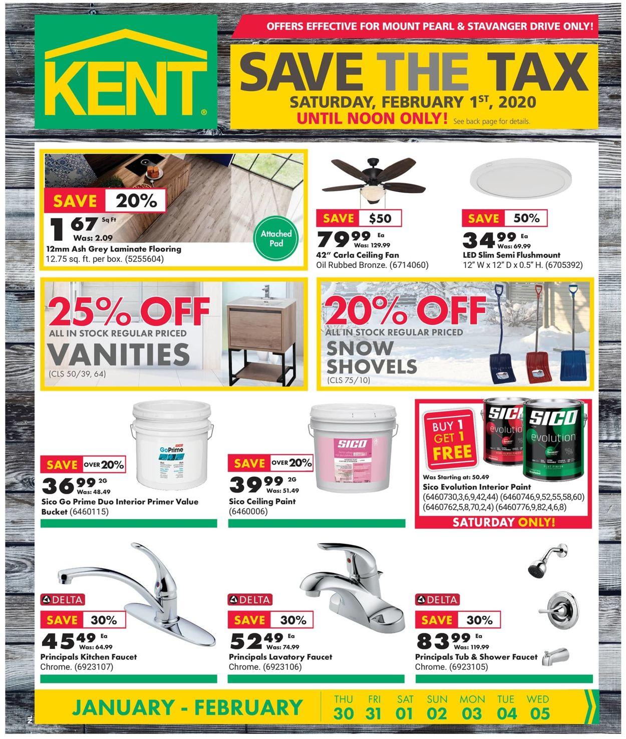 Kent Flyer - 01/30-02/05/2020