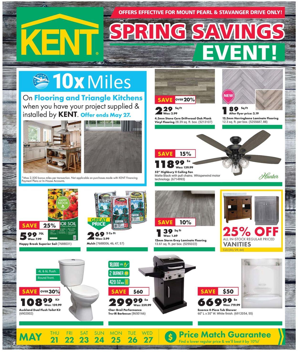 Kent Flyer - 05/21-05/27/2020