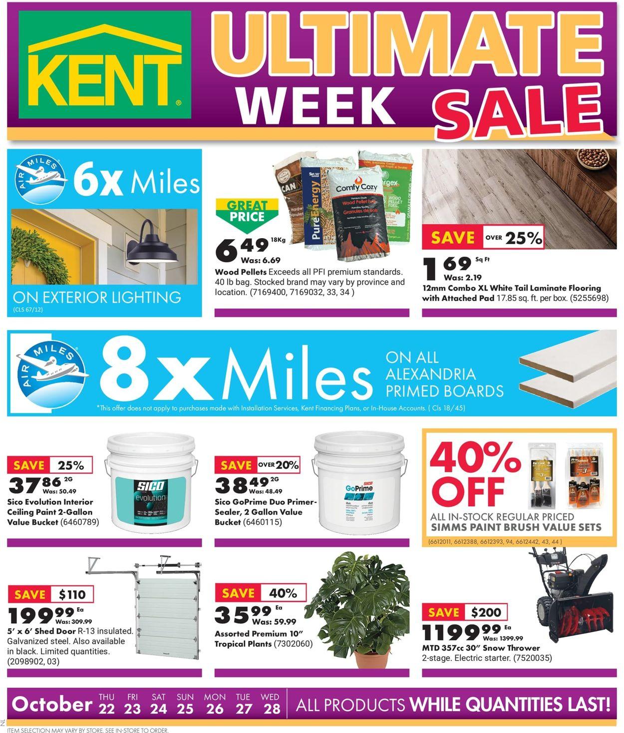 Kent Flyer - 10/22-10/28/2020