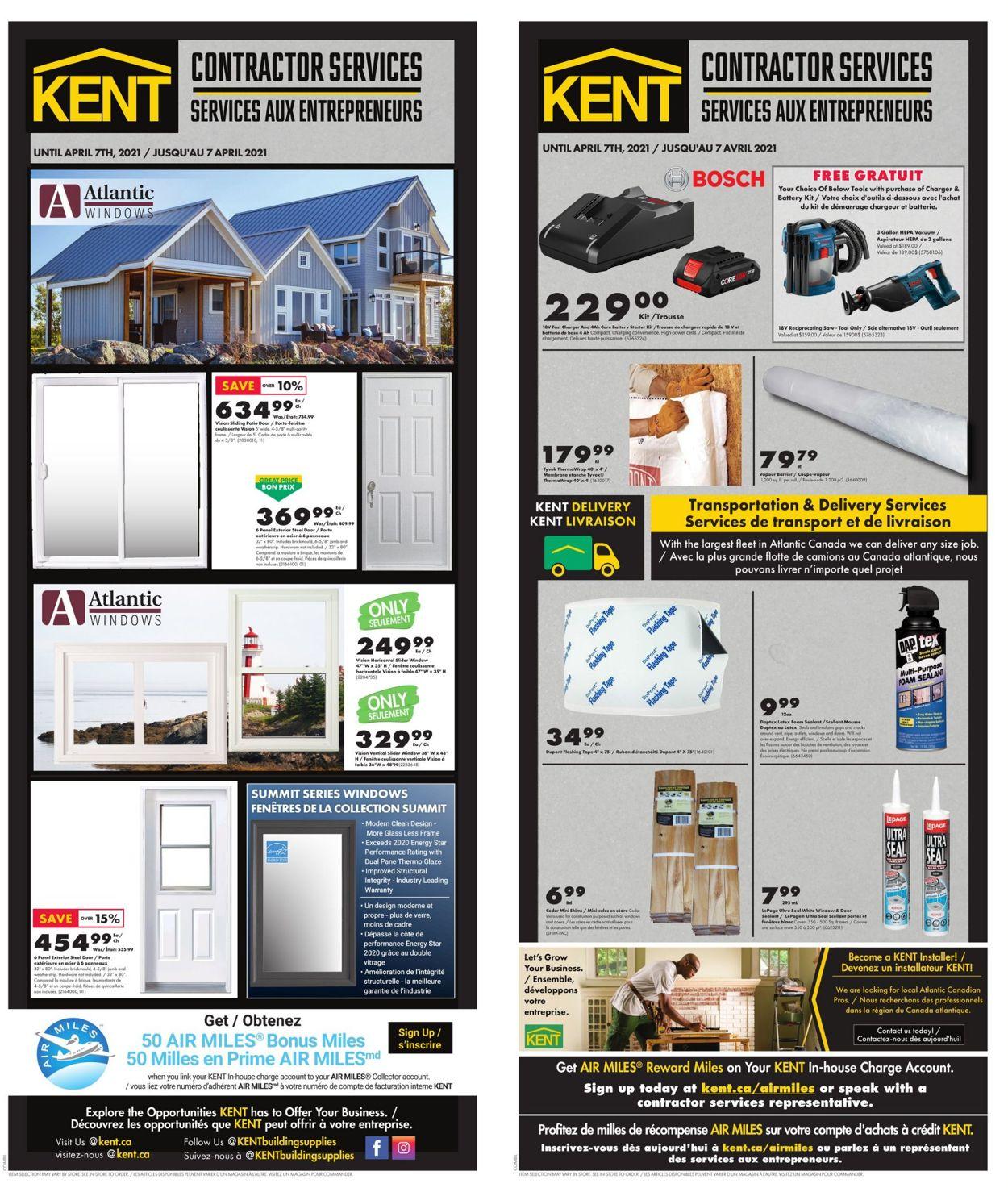Kent Flyer - 03/18-04/07/2021