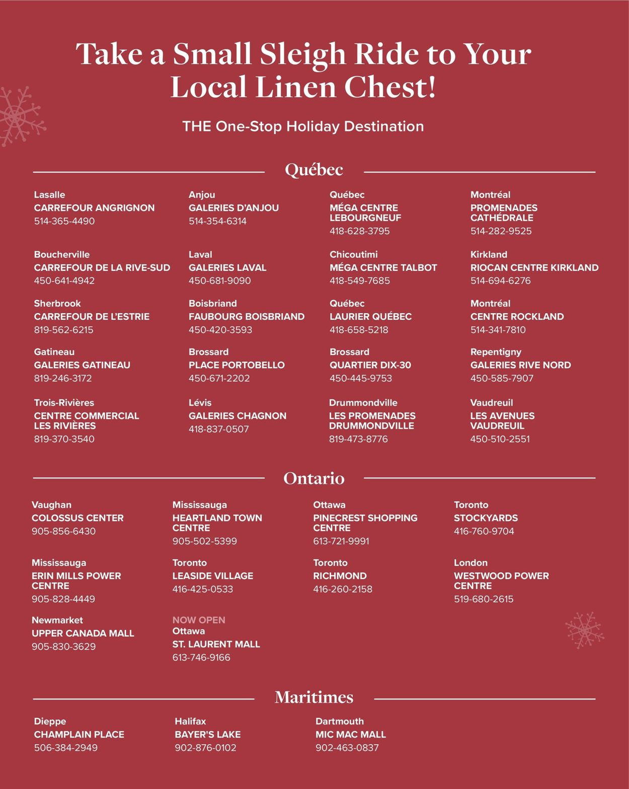 Linen Chest Gift Guide - Holiday 2020 Flyer - 11/05-11/30/2020 (Page 8)