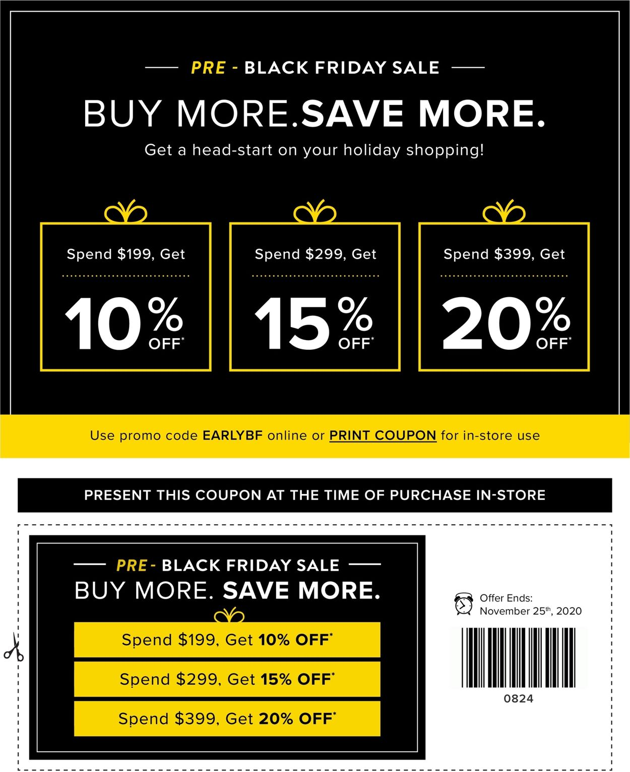 Linen Chest - Black Friday 2020 Flyer - 11/11-11/25/2020 (Page 2)