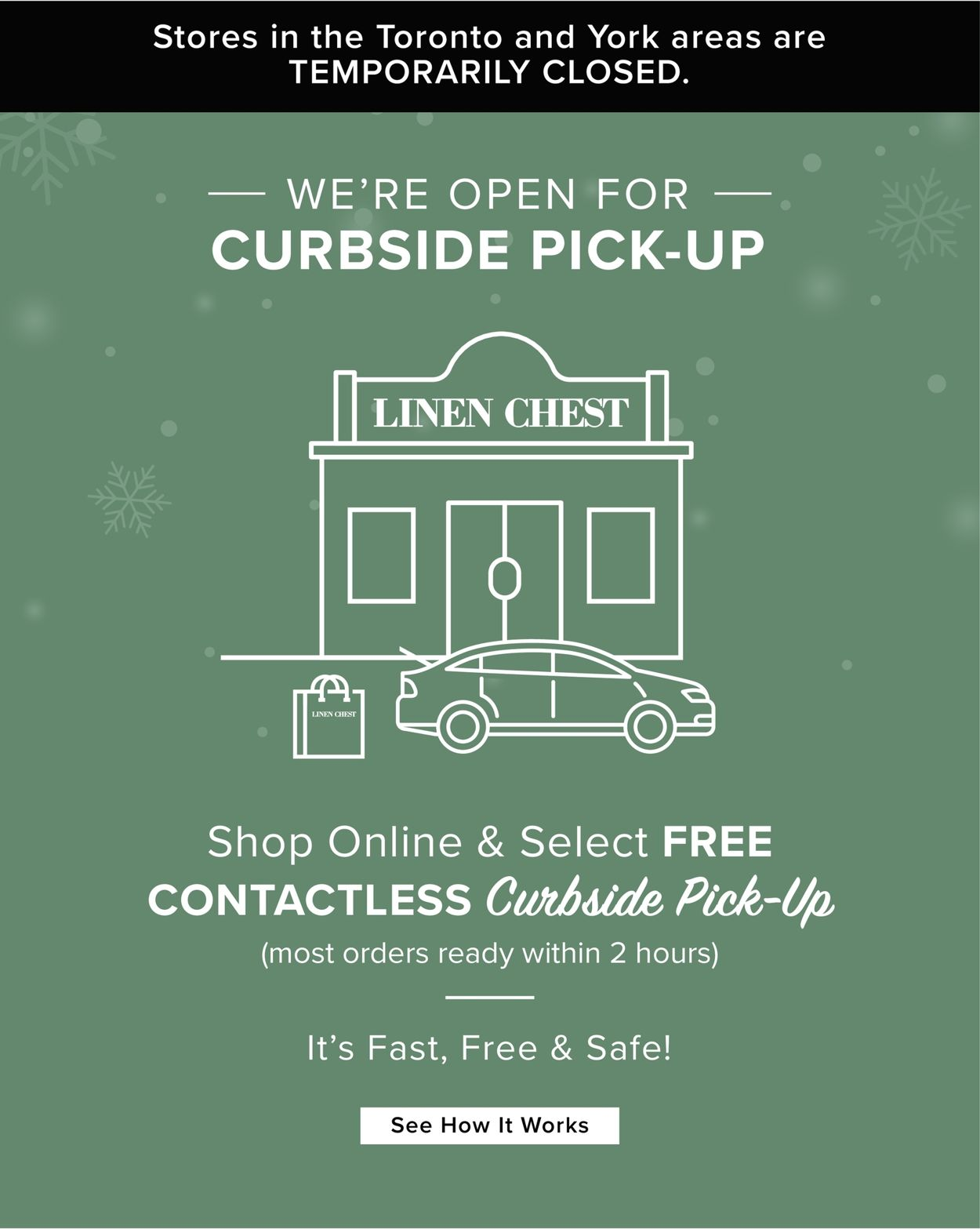 Linen Chest - Holiday 2020 Flyer - 12/02-12/22/2020
