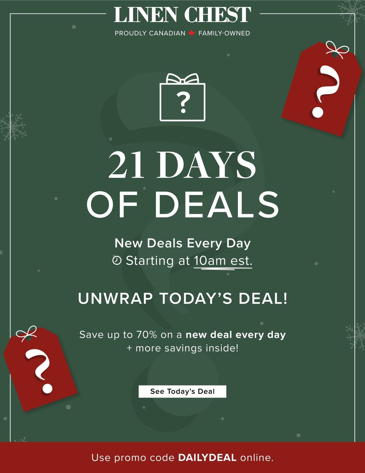 Linen Chest - Holiday 2020 Flyer - 12/02-12/22/2020 (Page 2)