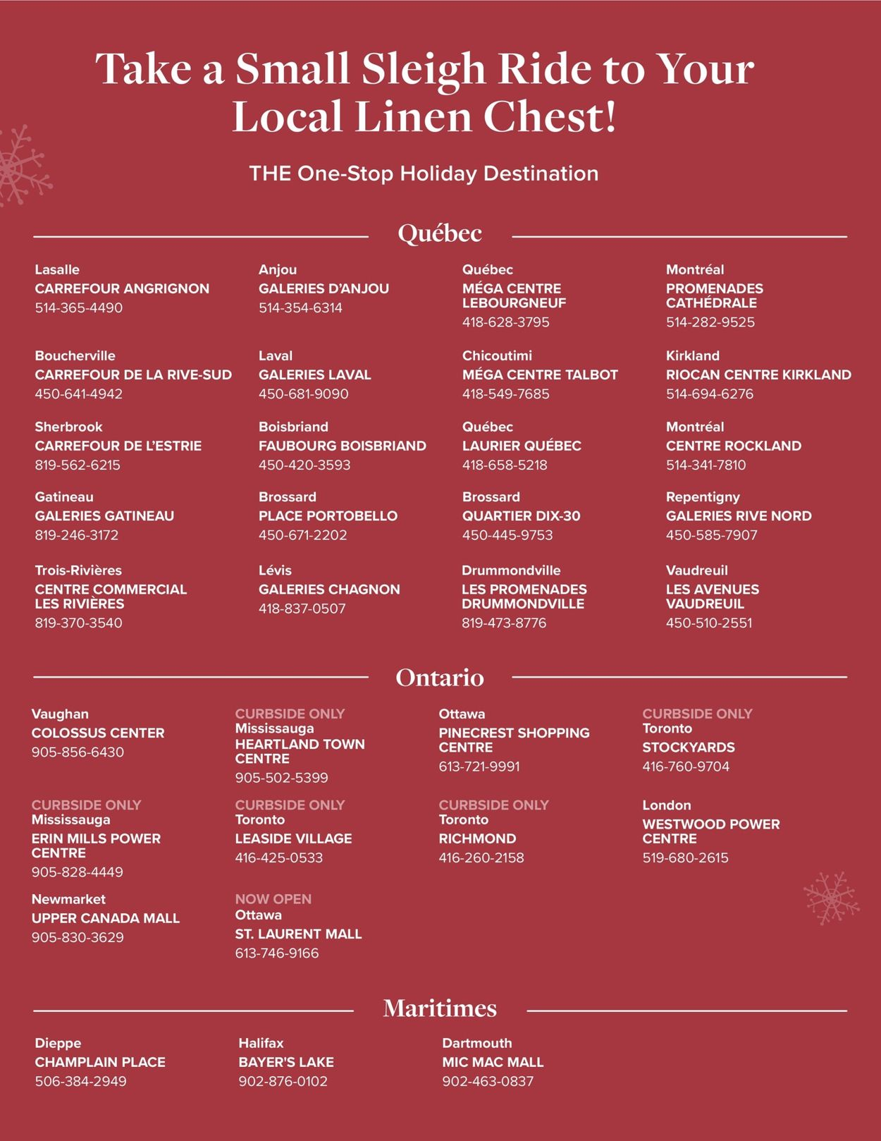 Linen Chest - Holiday 2020 Flyer - 12/02-12/22/2020 (Page 8)