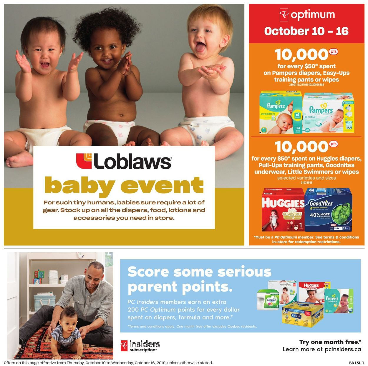 Loblaws Flyer - 10/10-10/16/2019