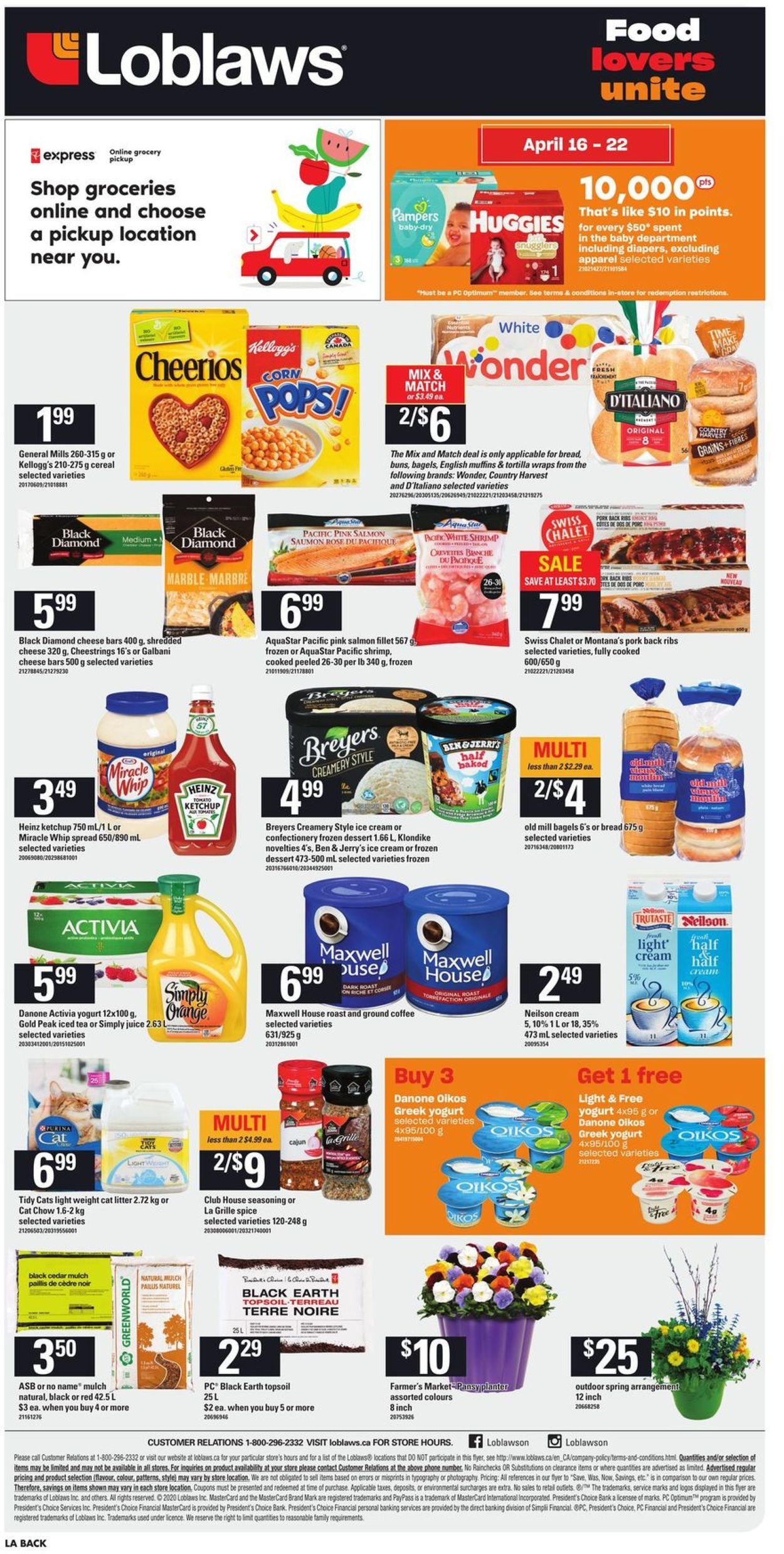 Loblaws Flyer - 04/16-04/22/2020 (Page 2)