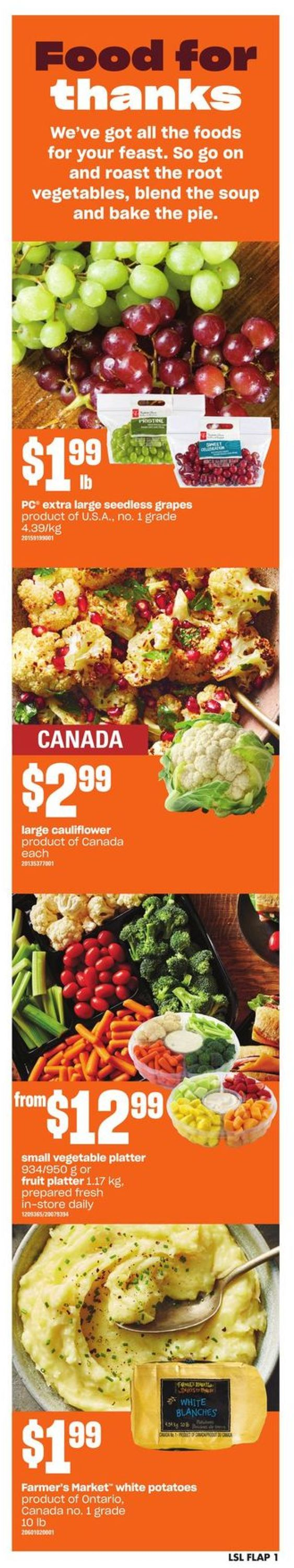 Loblaws Flyer - 10/01-10/07/2020