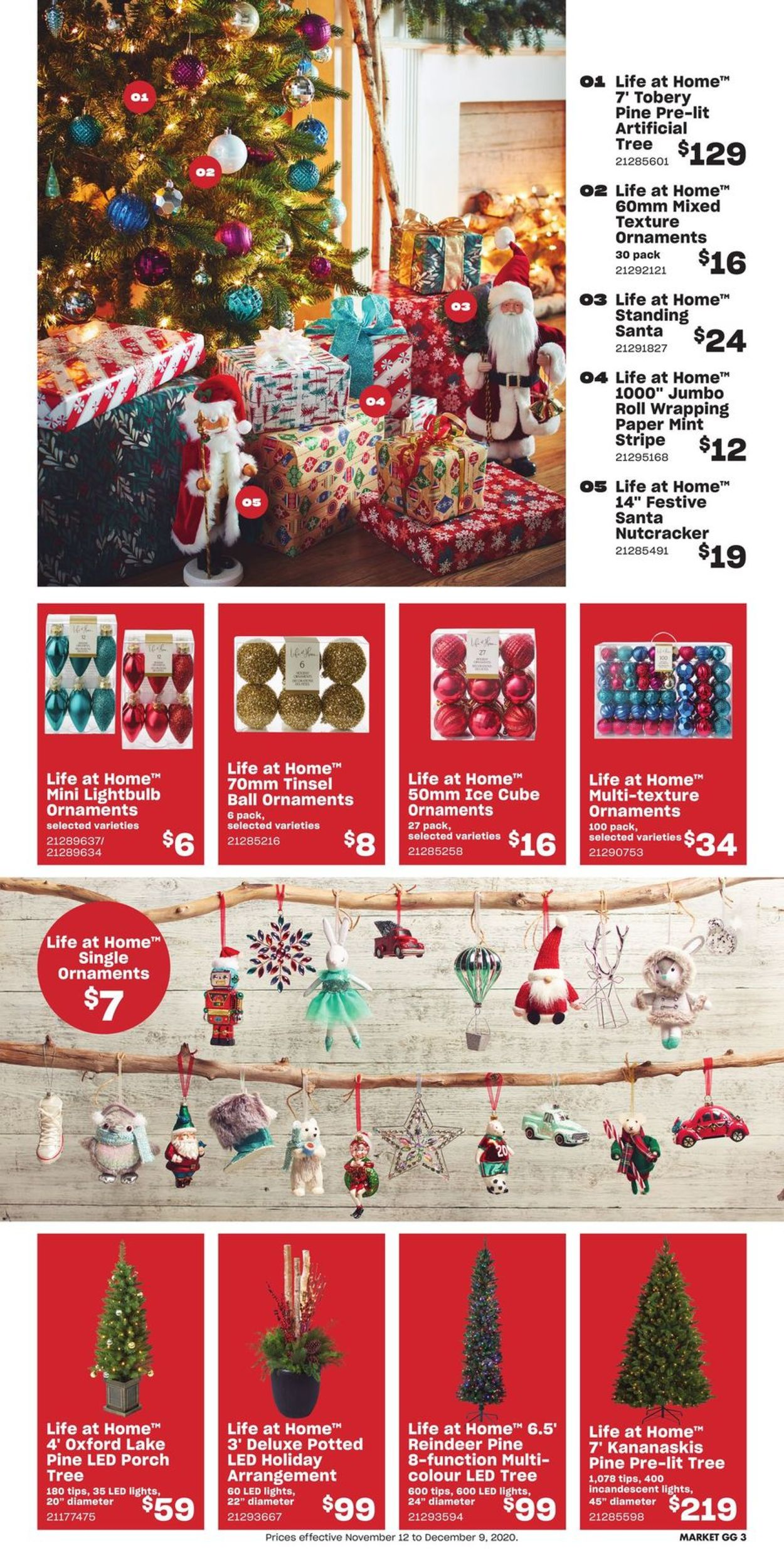 Loblaws - Holiday 2020 Flyer - 11/12-12/23/2020 (Page 3)
