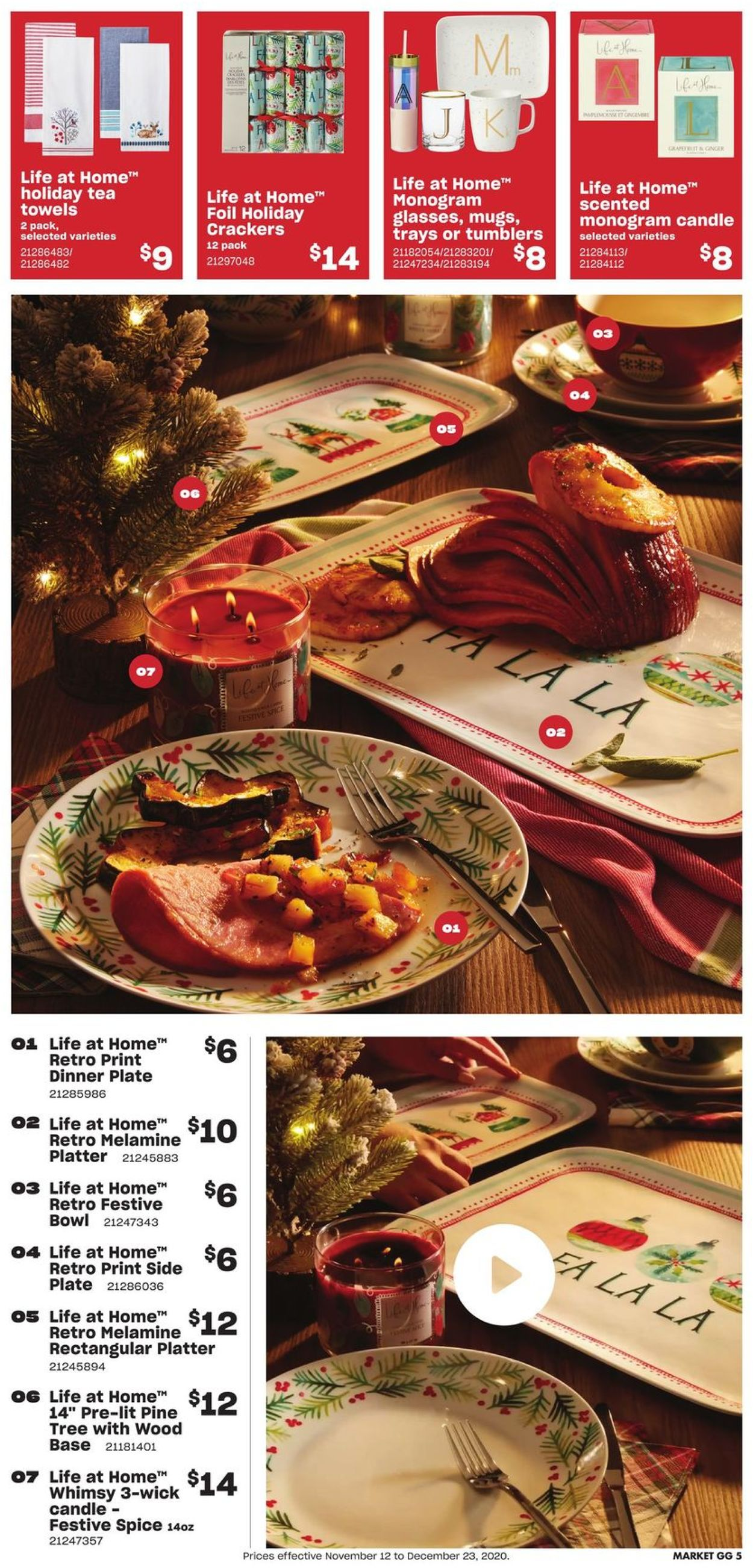 Loblaws - Holiday 2020 Flyer - 11/12-12/23/2020 (Page 5)