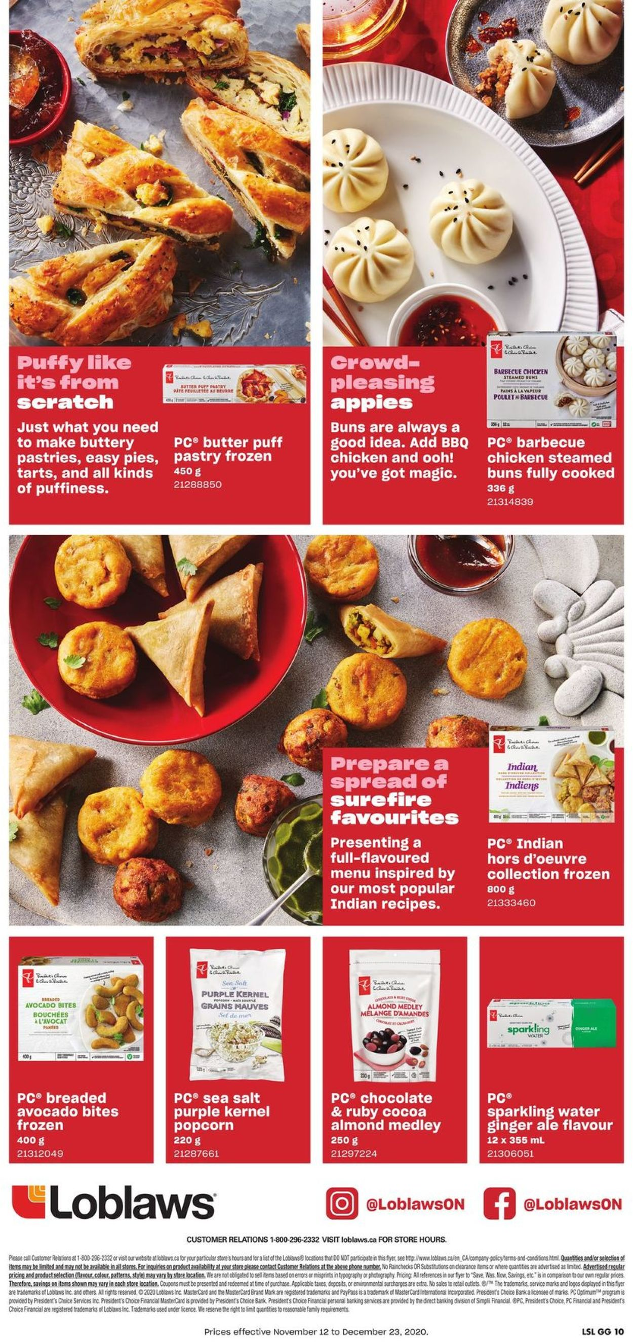 Loblaws - Holiday 2020 Flyer - 11/12-12/23/2020 (Page 10)