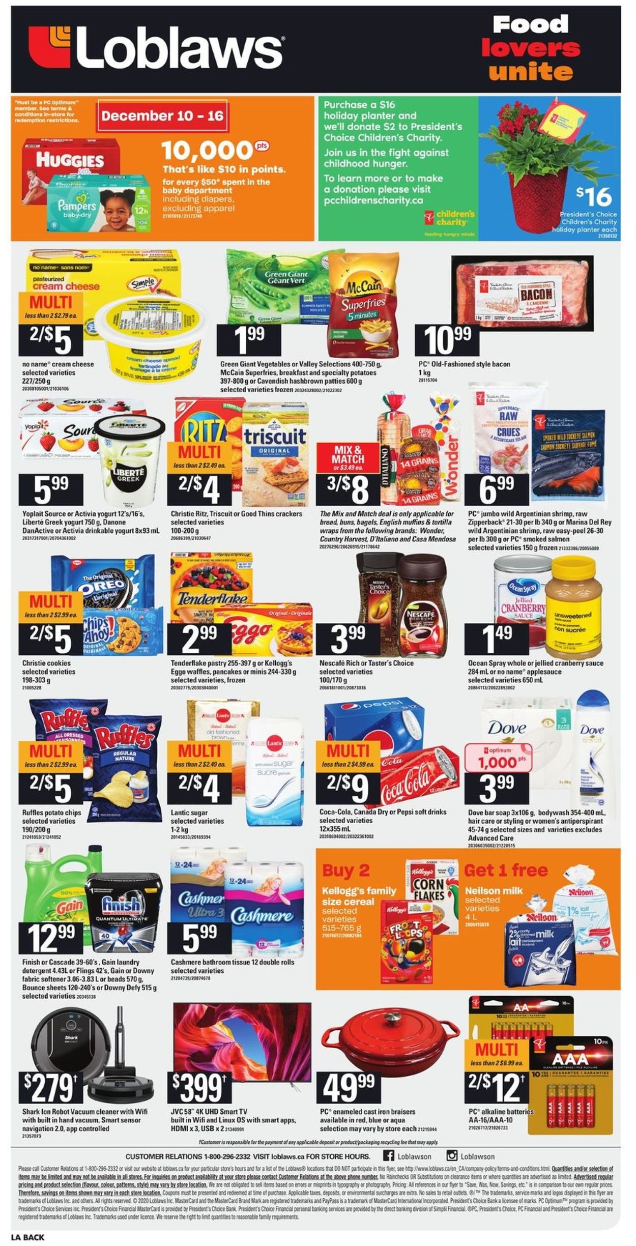 Loblaws - Holiday 2020 Flyer - 12/10-12/16/2020 (Page 4)
